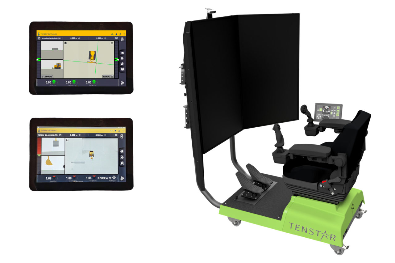 Machine Control Training Simulator
