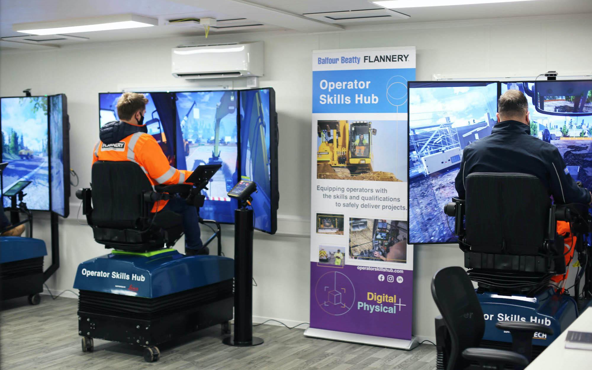 Simulator Training web