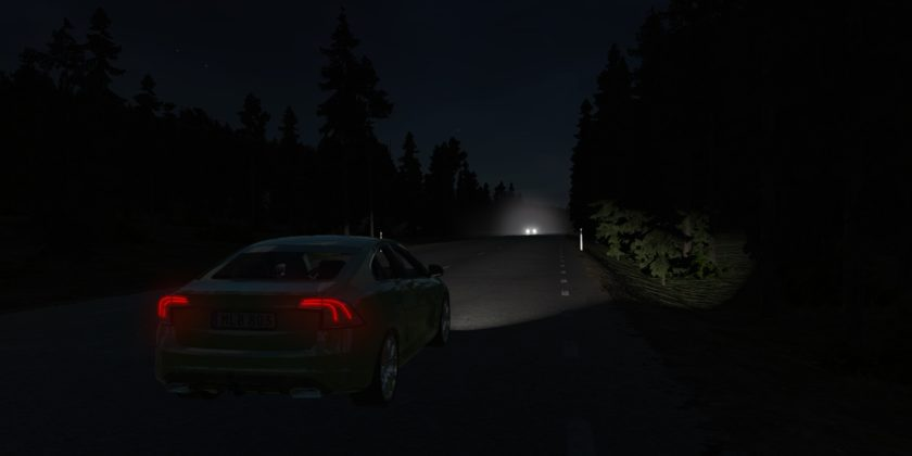 Car Night Dark 2000x1000